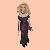 """Tonner Doll, Tyler Wentworth Collection, 16"""" Blonde Doll, Ready-to-Wear Satin Sydney"""