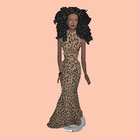 """Tonner Doll, Tyler Wentworth Collection, 16"""" African American Doll, Mesmerizing Esmé"""