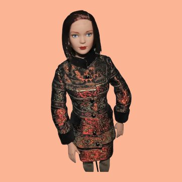 """Tonner Doll, Tyler Wentworth Collection, 16"""" Red-Haired Ready-to-Wear Carrie"""