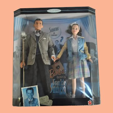Barbie Doll Collector Edition, Barbie Loves Frankie Sinatra, original box