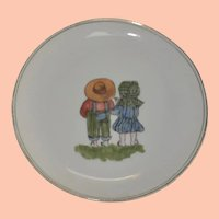 Vintage Porcelain Haviland Child's Plate