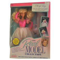 Vintage Fashion Doll, The Real Model Collection, Cheryl Tiegs