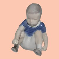 Vintage Bing & Grondahl Dickie Boy Danish Porcelain Figurine