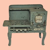 Vintage Toy Eagle Stove from Hubley