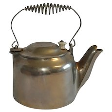 Vintage Wagner Ware Ohio Cast Iron Tea Kettle