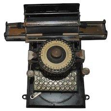 Exquisite Vintage GSN (Junior) German Typewriter Metal Toy, Original Box