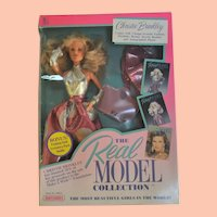 Vintage Fashion Doll, The Real Model Collection, Christie Brinkley
