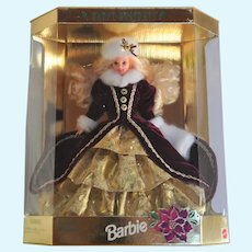 Barbie Doll Happy Holidays Special Edition, original box