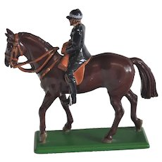 William Britains British Household Cavalry Series Mounted Policeman Toy Soldier