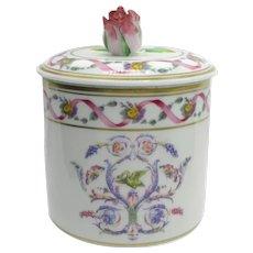 Beautiful Richard Ginori Rapallo Pattern Lidded Box Cache Pot