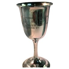 Watson Sterling Silver Horse Show Trophy Goblet