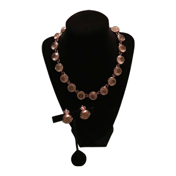 Francesca Romana Quartz Necklace and Earring Set