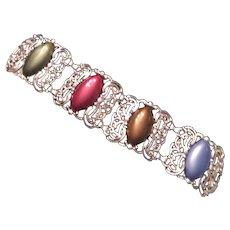 Sarah Coventry Carousel Panel Bracelet