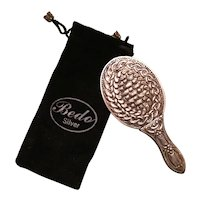 Bedo 900 Silver Pocket Hand Mirror