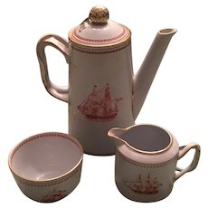 Copeland Spode Trade Winds Coffee Set