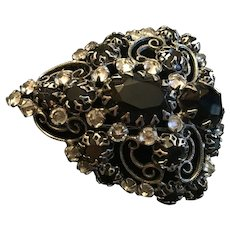 Art Deco Fur Clip Brooch