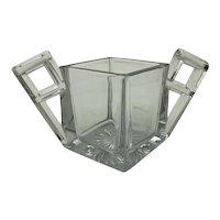 Heisey Glass Quator Pattern Open Sugar