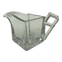 Heisey Glass Quator Pattern Creamer