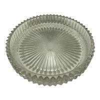 Heisey Glass Ridgeleigh Pattern 8 Inch Centerpiece Bowl