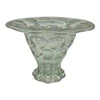 Heisey Glass Whirlpool Pattern Sweet Pea Vase