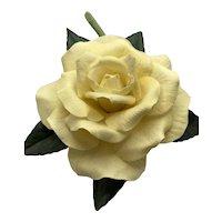 Boehm Porcelain Golden Girl Rose Figurine