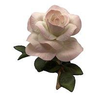 Boehm Porcelain Cherish Rose Figurine