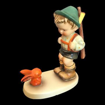 "Goebel Hummel Figurine, ""Sensitive Hunter"" #6/0 TMK3"