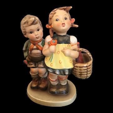 "Goebel Hummel Figurine, ""To Market"" #49/0 TMK2 Full Bee"