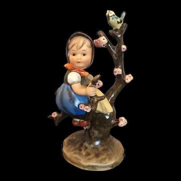 """Goebel Hummel Figurine, """"Apple Tree Girl"""" #141 TMK2 Full Bee"""