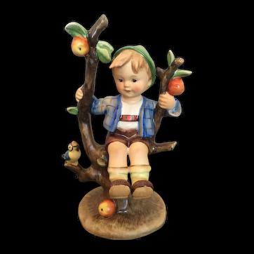 "Goebel Hummel Figurine, ""Apple Tree Boy"" #142/1 TMK2 Full Bee"