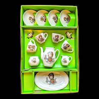Children's tea set 13 piece made in Japan in original box