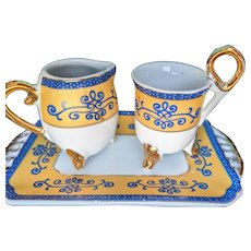 Vintage childrens childs doll partial tea set