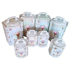 Lusterware canister set Germany