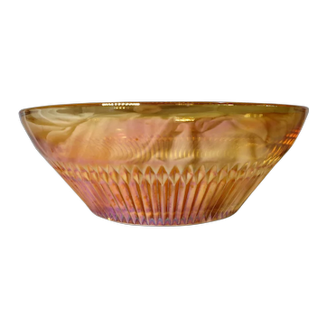 "Beautiful Vintage Glass Bowl, ""Anniversary"" Edition by Jeannette Glass Co, Circa 1970"