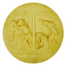 Rigoletto - La Scala Grand Opera Series - 1976 Ivory Alabaster Collectible Plate