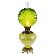 Vintage Electrified Juno GWTW Banquet Parlor Lamp