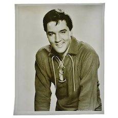 Vintage 1960's Elvis Presley MGM Studios Photograph