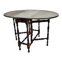 Antique Elite Furniture Company Mahogany Gateleg Table