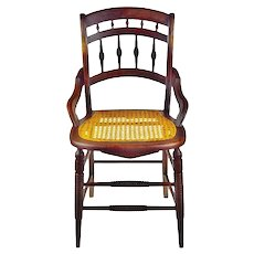 Victorian Cane Seat Chair