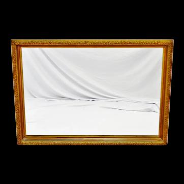 Vintage Framed Gilt Filigree Wall Mirror