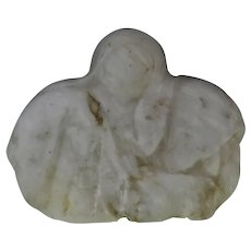 Vintage R.C. Gorman Style Marble Sculpture