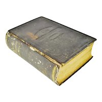 1875 Pennsylvania Legislative Handbook w/ Antique 1875 Map of Pennsylvania Smull