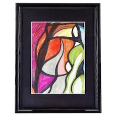 Pat Gallagher Signed Original Abstract Art