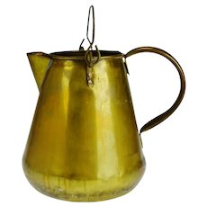 Vintage Brass Pitcher Made in The Republic of Ireland