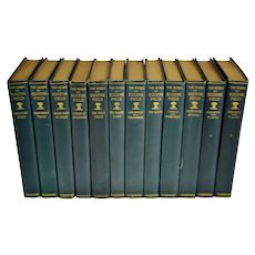 Antique 1896 The Works Of Eugene Field Books - 12 Vol. Set