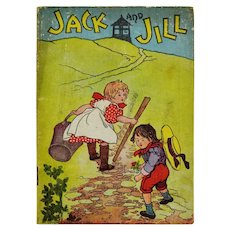 McLoughlin Bros Linen Jack and Jill Childrens Book
