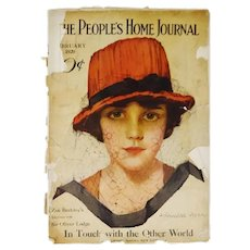 Antique February 1920 The Peoples Home Journal Magazine