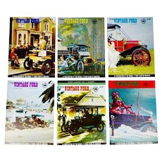 Vintage Ford Magazines 1968 Full Year Antique Automobiles, Model T Ford Club