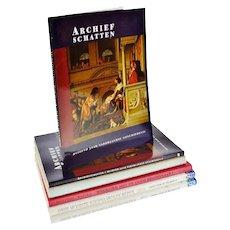 6 Vintage Dutch History Coffee Table Books
