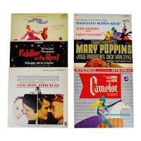 Collection of Vintage Decorative Motion Picture Soundtrack LP Covers - 6